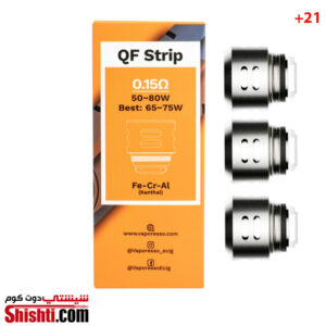 SKRR QF Strip Coils 0.15Ω Vaporesso