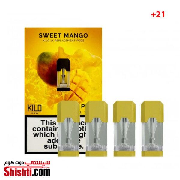 KILO 1K PODS SWEET MANGO 20MG 1.5ML (PACK OF 4PCS)