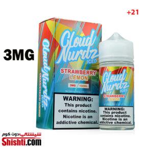 Cloud Nurdz Strawberry Lemon Ice 3MG