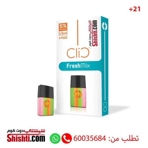 clic fresh mix pods