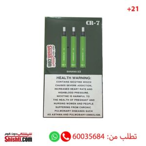 cr-7 pods 800 puffs disposable pods