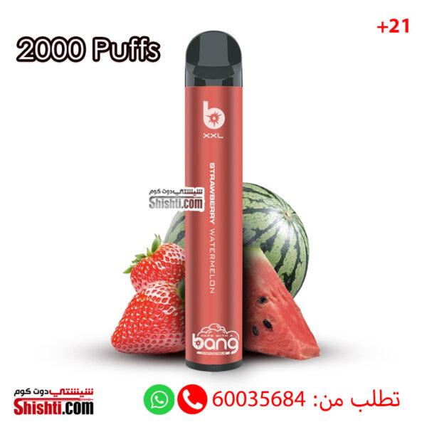 bang strawberry watermelon 2000 puffs