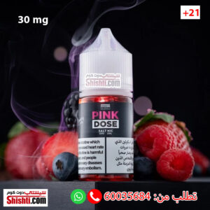 pink dose 30mg salt liquid