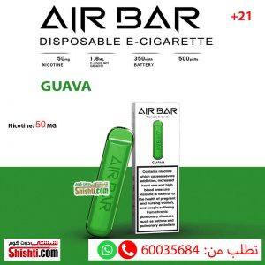 AIR BAR guava 50MG 1 POD 500 PUFFS