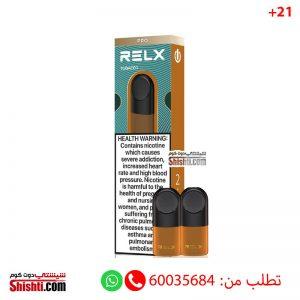 relx pods tobacco