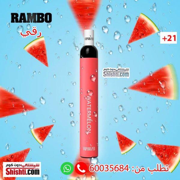 rambo watermelon disposbale