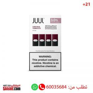 juul virginia tobacco 3% juul pods