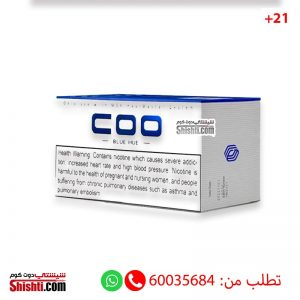 mok cigarettes blue coo pack of 10 menthol flavor