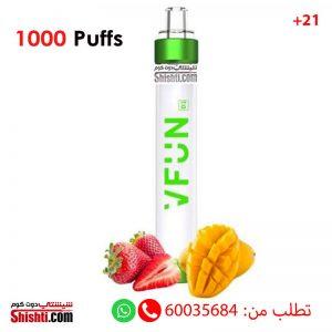 vfun strawberry mango disposable 1000 puffs