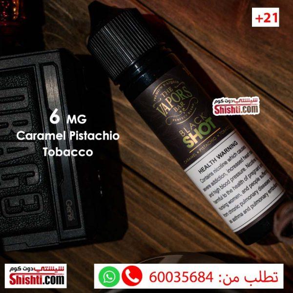 black shot 6mg caramel pistachio tobacco