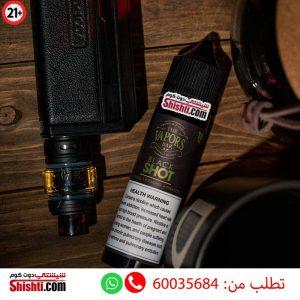 black shot 18mg the vapors bar