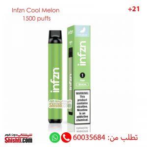 infzn cool melon disposable 1500 puffs