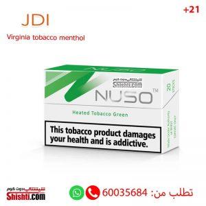 nuso green virginia tobacco menthol
