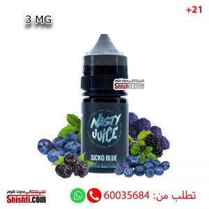 sicko blue nasty juice 3mg