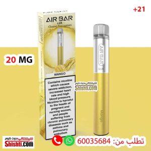air bar lux mango 20mg