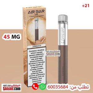 air bar luxe tobacco 45mg