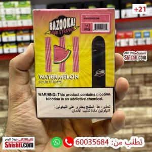 bazooka watermelon disposable 50mg 3 pods