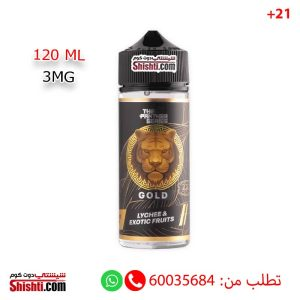 the panther series gold 120ml 3mg